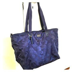 Coach Zip Top Tote Bag
